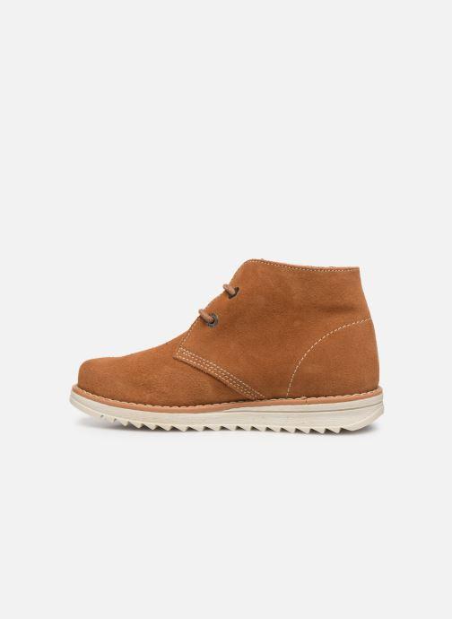 Chaussures à lacets Pablosky Felip Marron vue face