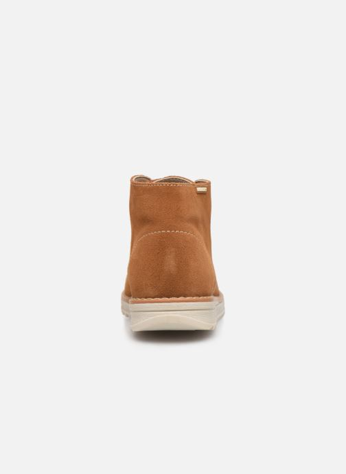 Chaussures à lacets Pablosky Felip Marron vue droite