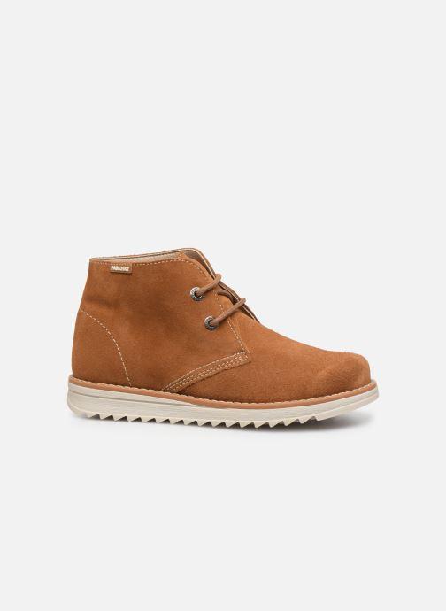 Chaussures à lacets Pablosky Felip Marron vue derrière