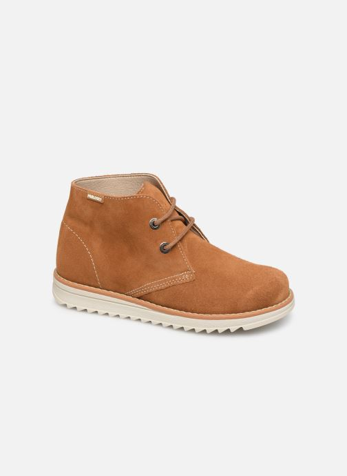 Lace-up shoes Pablosky Felip Brown detailed view/ Pair view