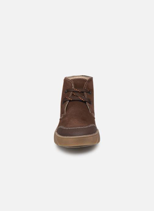 Chaussures à lacets Pablosky Pio Marron vue portées chaussures