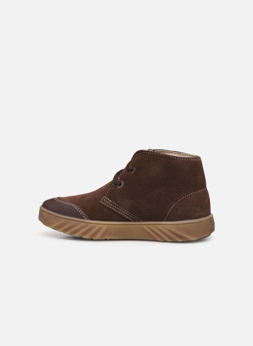 Chaussures à lacets Pablosky Pio Marron vue face