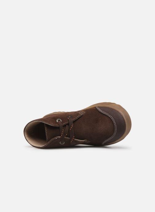 Zapatos con cordones Pablosky Pio Marrón vista lateral izquierda