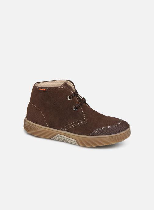 Chaussures à lacets Pablosky Pio Marron vue détail/paire