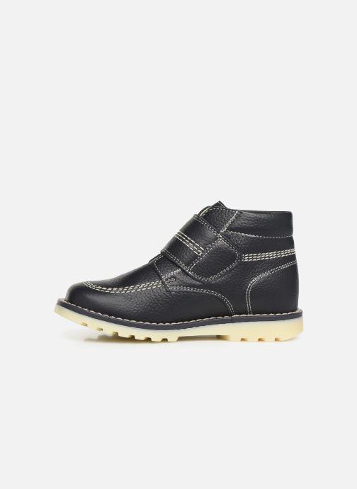 Schoenen met klitteband Pablosky Eldo Blauw voorkant