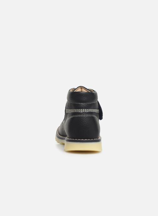 Chaussures à scratch Pablosky Eldo Bleu vue droite