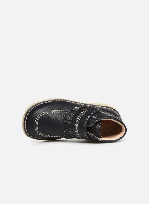 Zapatos con velcro Pablosky Eldo Azul vista lateral izquierda