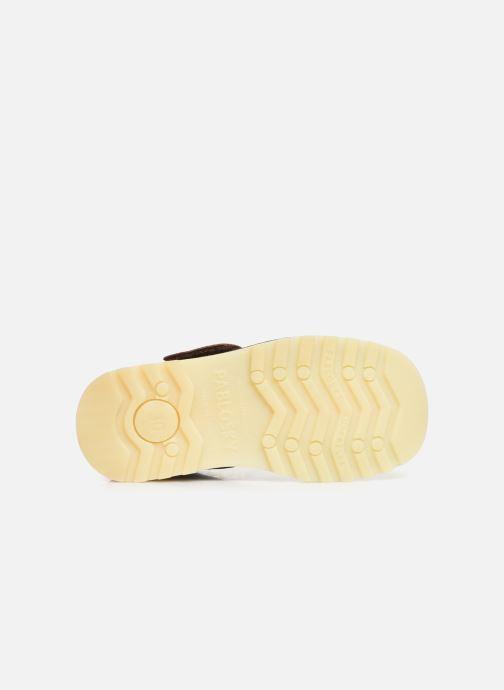 Zapatos con velcro Pablosky Eldo Marrón vista de arriba