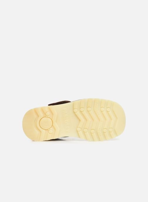 Chaussures à scratch Pablosky Eldo Marron vue haut