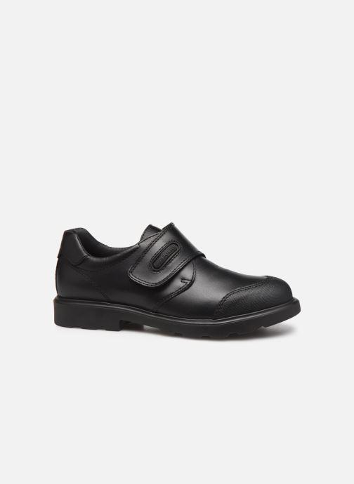 Zapatos con velcro Pablosky Martino Negro vistra trasera