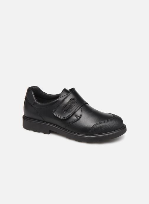 Schoenen met klitteband Pablosky Martino Zwart detail