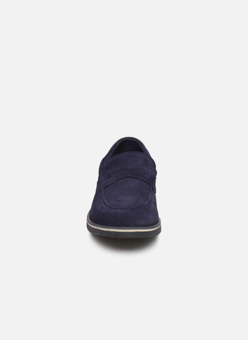 Mocassins Pablosky Manielo Bleu vue portées chaussures