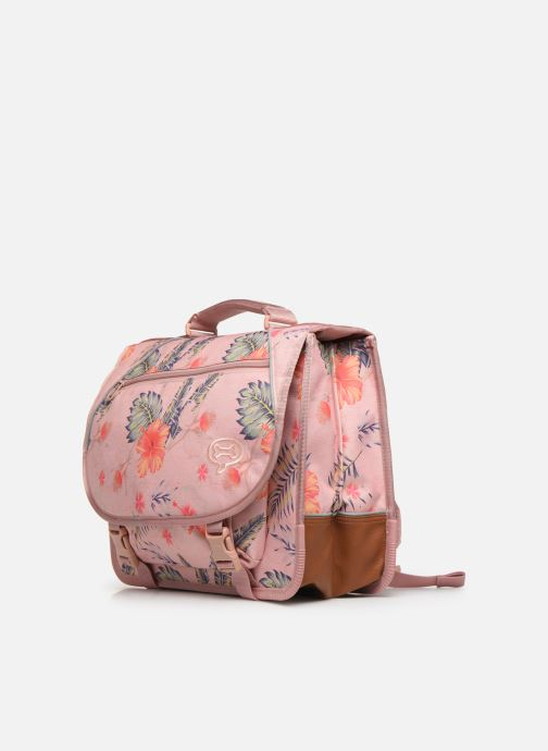 School bags Stones and Bones LILY 38CM Pink model view