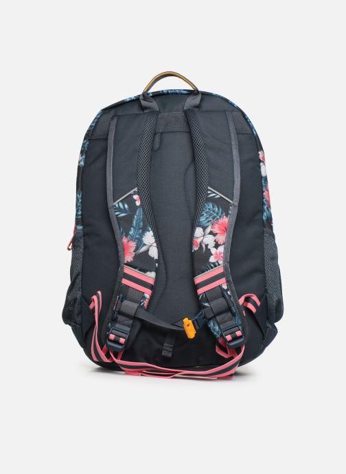 School bags Stones and Bones ASPEN Blue front view
