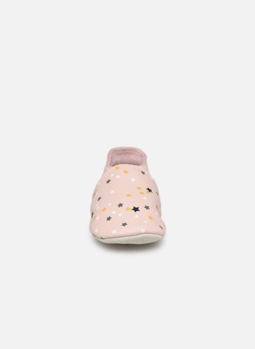 Slippers Bobux Voie Lactée Pink model view