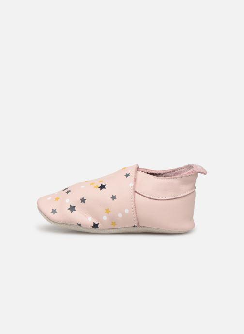 Slippers Bobux Voie Lactée Pink front view