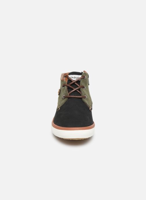 Baskets Faguo Wattlel LS Noir vue portées chaussures