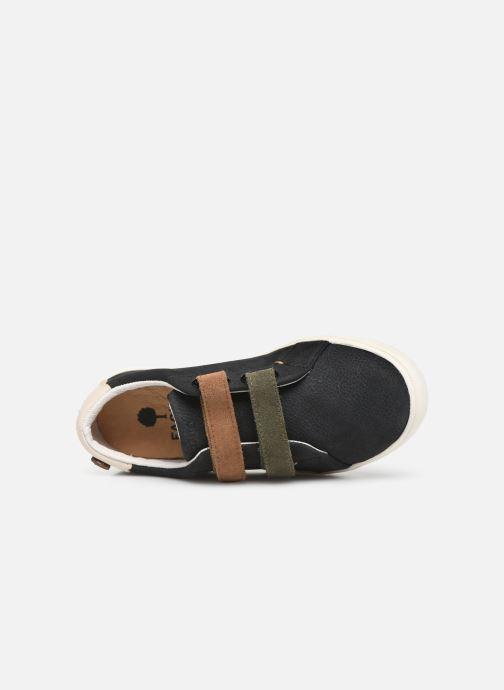 Sneaker Faguo Aspenlowv L schwarz ansicht von links