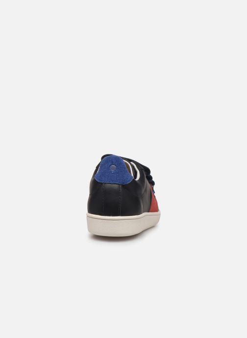 Baskets Faguo Hostav L Bleu vue droite