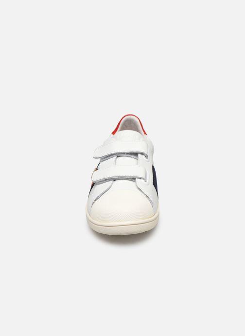 Baskets Faguo Hostav L Blanc vue portées chaussures