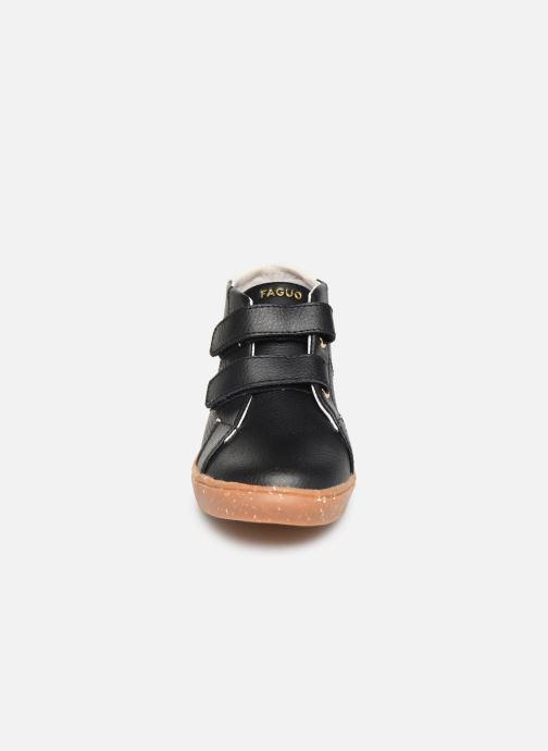 Baskets Faguo Aspenv L Noir vue portées chaussures