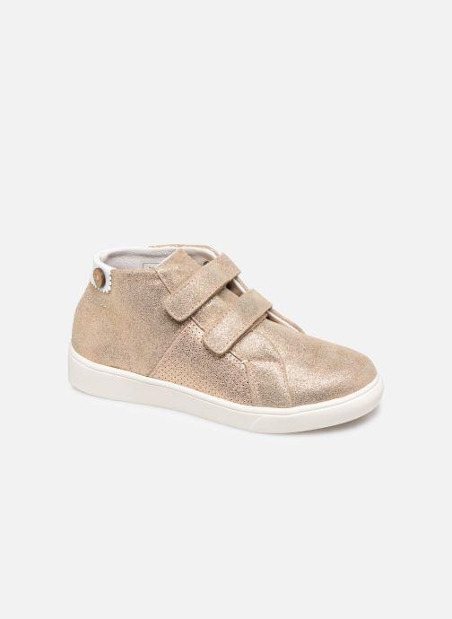 Sneakers Faguo Aspenv S Goud en brons detail