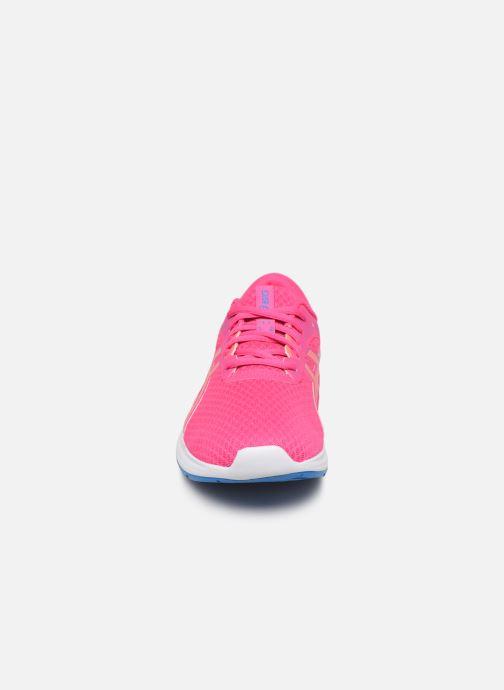Chaussures de sport Asics Patriot 11 GS Rose vue portées chaussures