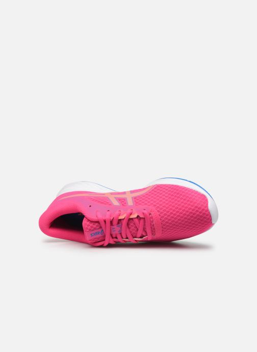Sport shoes Asics Patriot 11 GS Pink view from the left