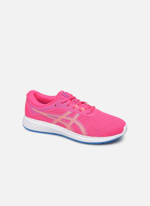 Sport shoes Asics Patriot 11 GS Pink detailed view/ Pair view