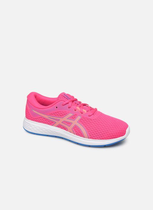 Chaussures de sport Asics Patriot 11 GS Rose vue détail/paire