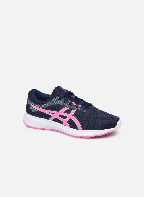 Chaussures de sport Asics Patriot 11 GS Bleu vue détail/paire
