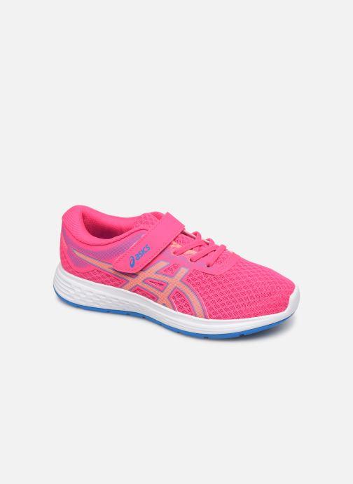 Chaussures de sport Asics Patriot 11 PS Rose vue détail/paire