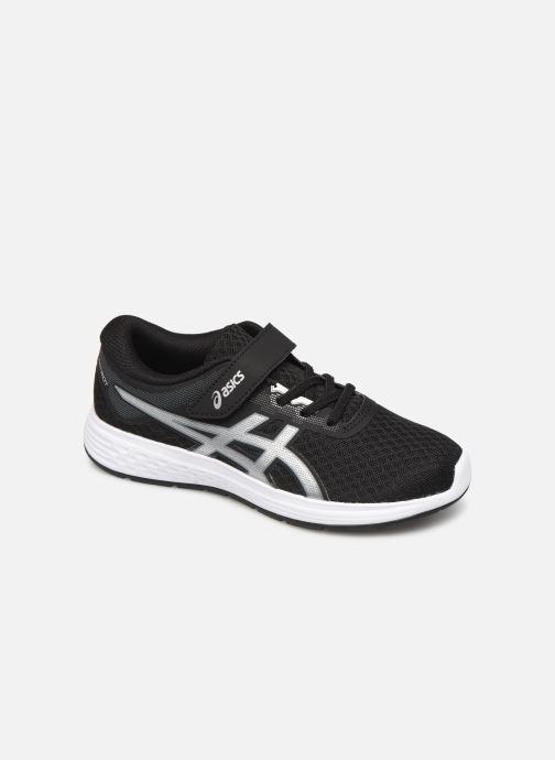 Chaussures de sport Asics Patriot 11 PS Noir vue détail/paire