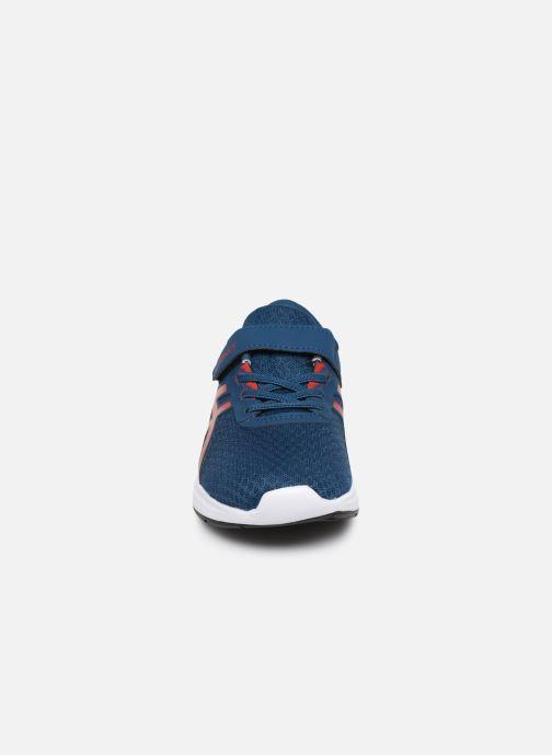 Chaussures de sport Asics Patriot 11 PS Bleu vue portées chaussures