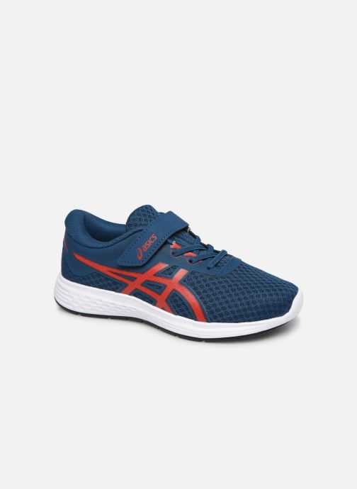 Chaussures de sport Asics Patriot 11 PS Bleu vue détail/paire