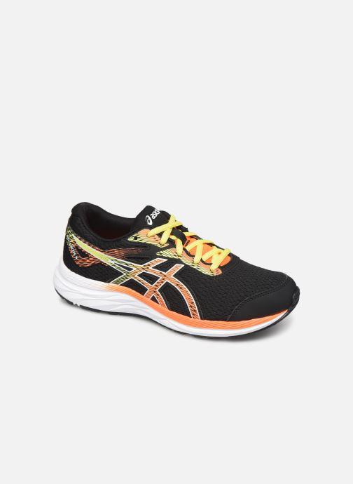 Chaussures de sport Asics Gel-Excite 6 GS Noir vue détail/paire