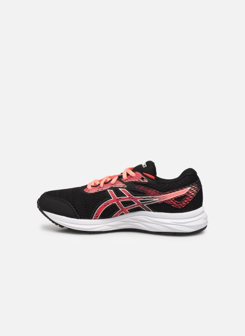 Sport shoes Asics Gel-Excite 6 GS Black front view