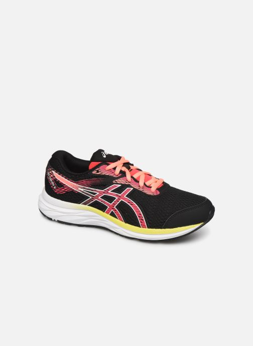 Sport shoes Asics Gel-Excite 6 GS Black detailed view/ Pair view