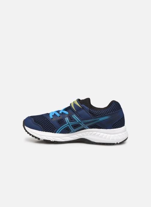 Chaussures de sport Asics Contend 5 PS Bleu vue face