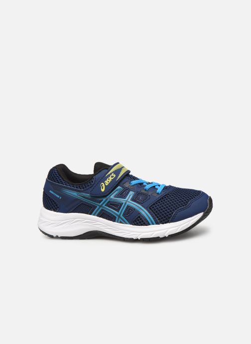 Sport shoes Asics Contend 5 PS Blue back view
