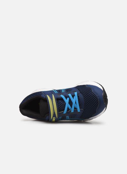 Chaussures de sport Asics Contend 5 PS Bleu vue gauche