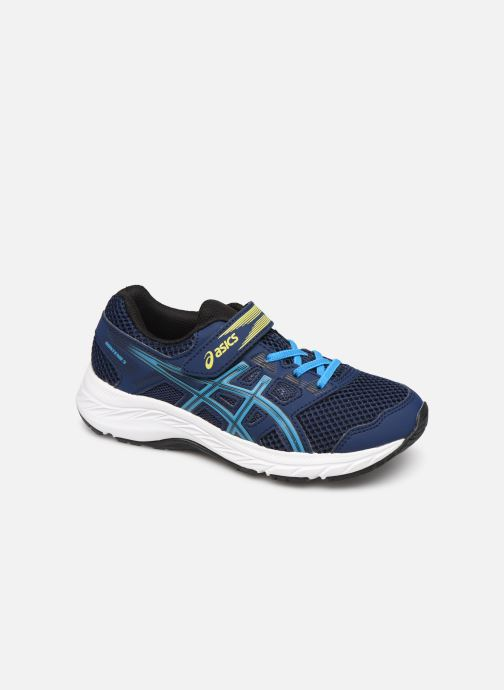 Sport shoes Asics Contend 5 PS Blue detailed view/ Pair view