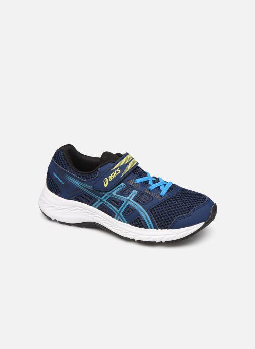 Chaussures de sport Asics Contend 5 PS Bleu vue détail/paire