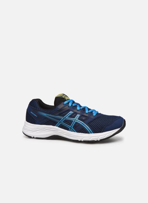 Sport shoes Asics Contend 5 GS Blue back view