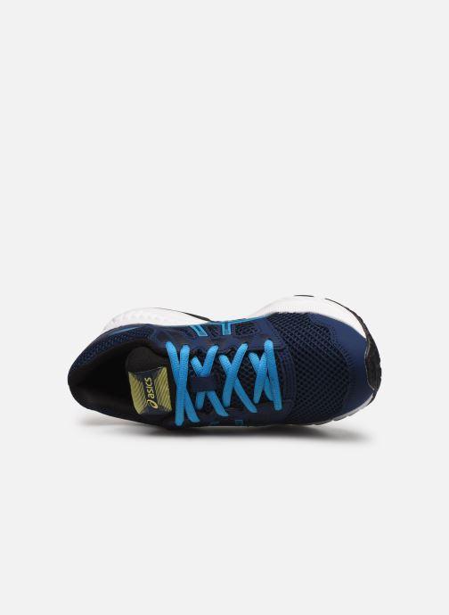 Chaussures de sport Asics Contend 5 GS Bleu vue gauche