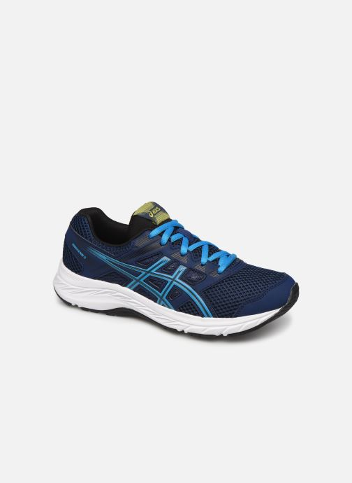 Sport shoes Asics Contend 5 GS Blue detailed view/ Pair view