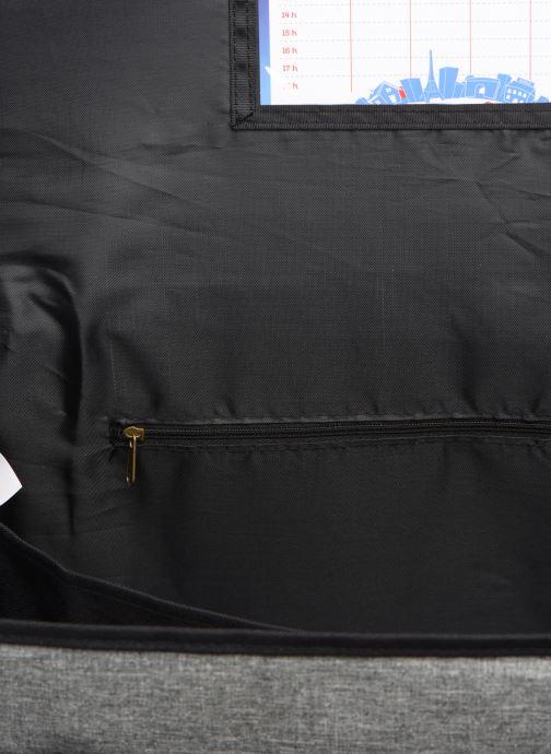 Scolaire Poids Plume CARTABLE 41CM NEW LIGHT Noir vue derrière