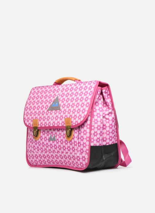 School bags Poids Plume CARTABLE 38CM STARS Pink model view
