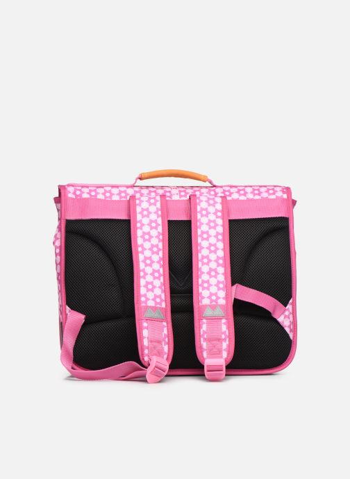 School bags Poids Plume CARTABLE 38CM STARS Pink front view