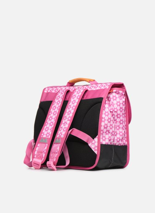 School bags Poids Plume CARTABLE 38CM STARS Pink view from the right